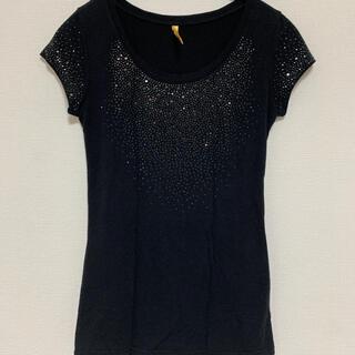 ロイヤルパーティー(ROYAL PARTY)のロイヤルパーティー キラキラTシャツ M(Tシャツ(半袖/袖なし))