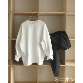 TODAYFUL - Todayful Raglan Brush Sweat