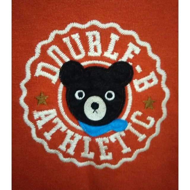 DOUBLE.B(ダブルビー)のミキハウス ダブルビー トレーナー 100 キッズ/ベビー/マタニティのキッズ服男の子用(90cm~)(Tシャツ/カットソー)の商品写真