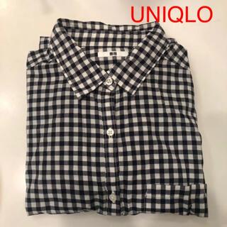 UNIQLO - UNIQLO★チェックシャツ  綿100%