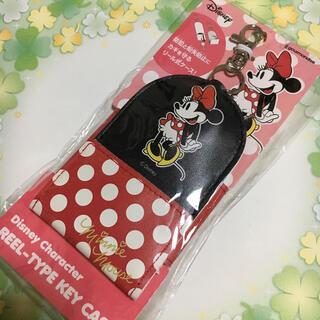 Disney - リール式キーケース ミニーちゃん