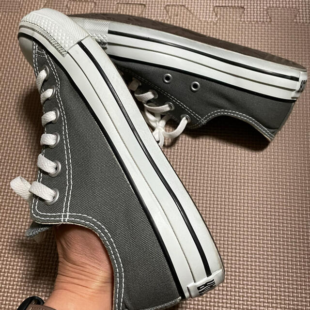 CONVERSE(コンバース)のコンバース祭! コンバース チャコール レディースの靴/シューズ(スニーカー)の商品写真