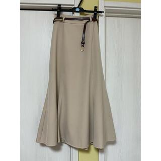 INGNI - INGNI ベルト付きスカート