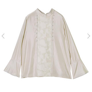 Ameri VINTAGE - 2WAY BUTTON BLOUSE アメリヴィンテージ
