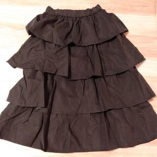 riche glamour フリルスカート(ロングスカート)