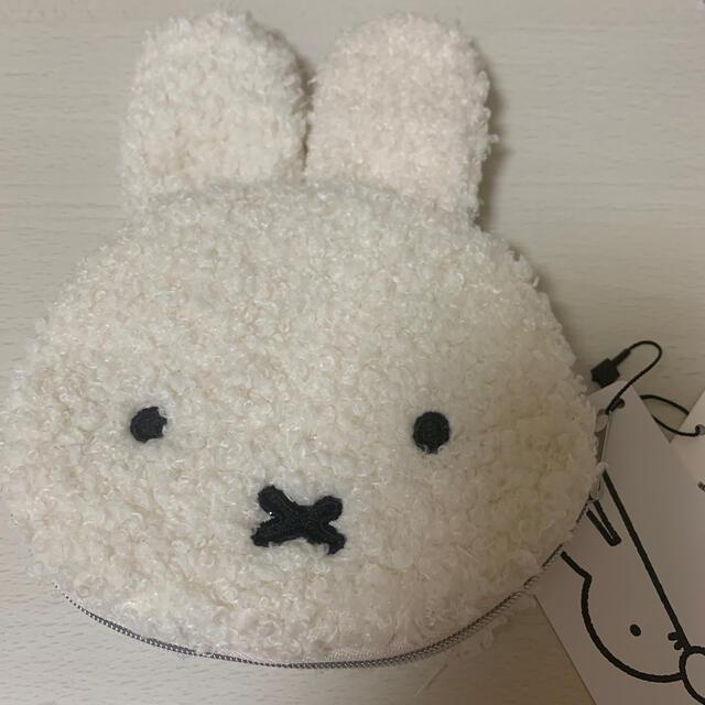 ミッフィー♡もこもこポーチ レディースのファッション小物(ポーチ)の商品写真