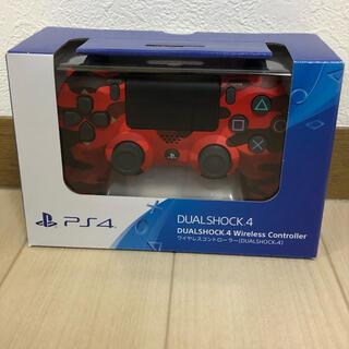 PlayStation4 - 新品未開封 PS4 純正ワイヤレスコントローラー マグマレッド