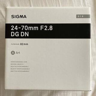 SIGMA - SIGMA 24-70mm F2.8 DG DN | Art フルサイズ