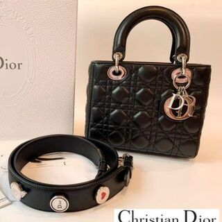 Christian Dior - Lady Dior レディディオール バッグ ブラック