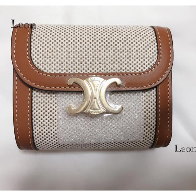 celine(セリーヌ)の新品未使用 CELINE セリーヌ トリオンフ スモールウォレット 財布 レディースのファッション小物(財布)の商品写真
