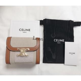 celine - 新品未使用 CELINE セリーヌ トリオンフ スモールウォレット 財布