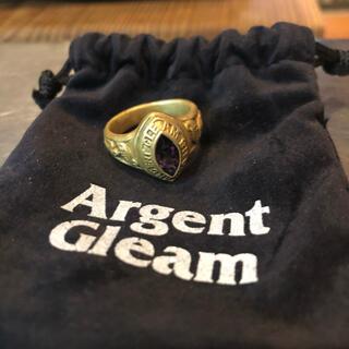 アージェントグリーム(Argent Gleam)のArgent Gleam  アージェントグリーム  カレッジリング 17号(リング(指輪))