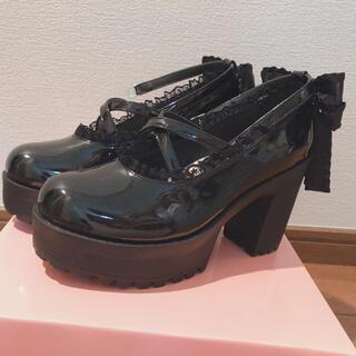 ロジータ(ROJITA)のROJITA ロジータ 厚底 XL(24~24.5)(ローファー/革靴)