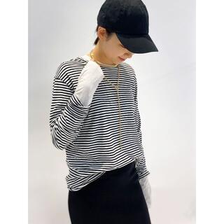 L'Appartement DEUXIEME CLASSE - 新品◆追加 Distortion ボーダーTシャツ AP STUDIO