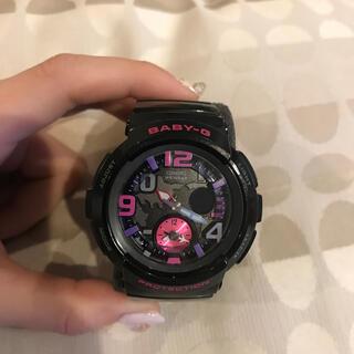 ベビージー(Baby-G)の値下げ⭐︎BABY-G ブラック×ピンクパープル(腕時計)