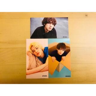 ジャニーズジュニア(ジャニーズJr.)の美少年 Myojo 厚紙カード 3枚セット(アイドルグッズ)
