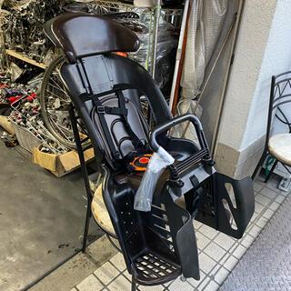 オージーケー(OGK)の⑥ 後・子供乗せ OGK RBC-011DX3 点検・洗浄済 ブラック/ブラウン(自転車)