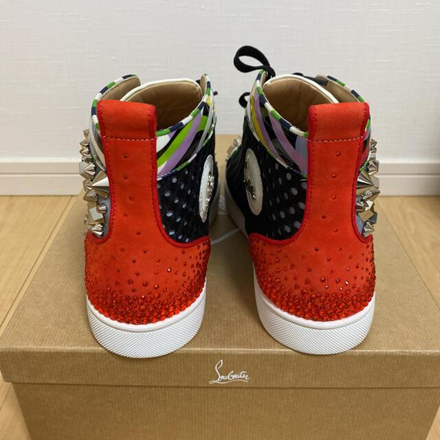 Christian Louboutin(クリスチャンルブタン)の希少 海外限定 クリスチャンルブタン ハイカットスニーカー スワロ 27cm メンズの靴/シューズ(スニーカー)の商品写真