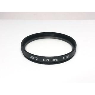 ライカ(LEICA)の極上品 ライカ E39 UVa フィルター 13131 ブラック(フィルター)