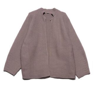 ミラオーウェン(Mila Owen)のミラオーウェン ニットジャケット 新品タグ付き(カーディガン)