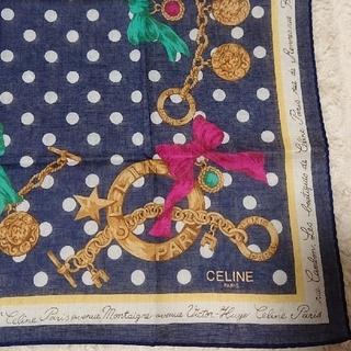セリーヌ(celine)の《未使用》CELINE ハンカチ(ハンカチ)