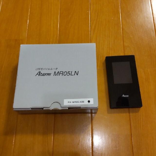 NEC(エヌイーシー)のAterm PA-MR05LN スマホ/家電/カメラのPC/タブレット(PC周辺機器)の商品写真