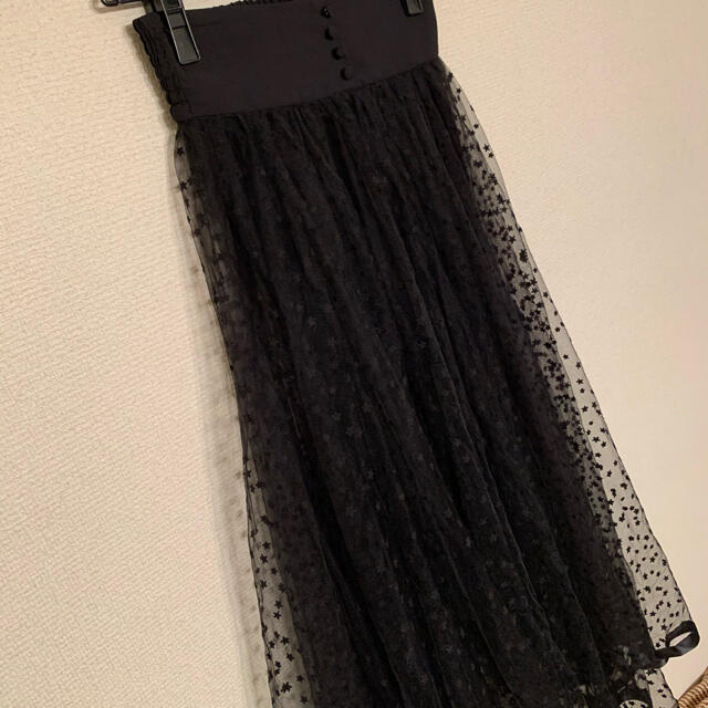Ameri VINTAGE(アメリヴィンテージ)のameri vintage ロングスカート インナースカート付いてません レディースのスカート(ロングスカート)の商品写真