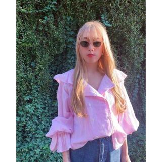 PAMEO POSE - パメオポーズ Eden Shirts Pink pameopose