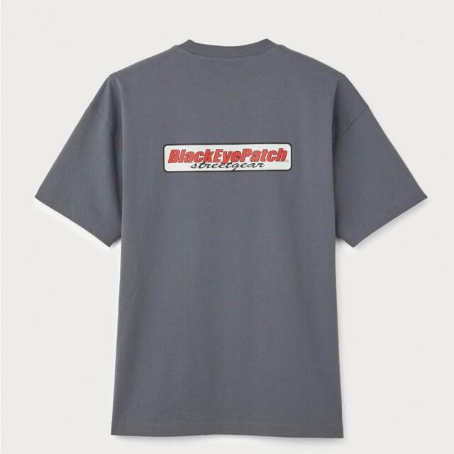 H&M(エイチアンドエム)のBlack eye patch H&M Tシャツ メンズのトップス(Tシャツ/カットソー(半袖/袖なし))の商品写真