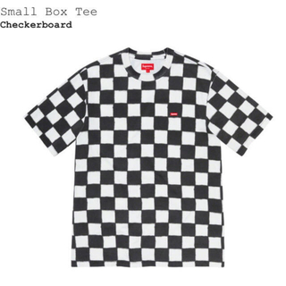 Supreme - Supreme Small Box Logo Tee Checkerboard