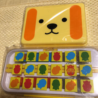 JA ちょきんぎょランチトリオ ホーク スプーン 箸 セット & メッシュ弁当箱(弁当用品)