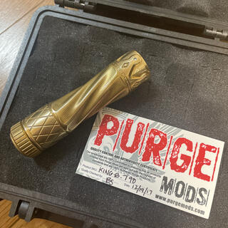 超希少 purge mods king 18650