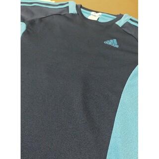 adidas - adidas アディダス Tシャツ プラシャツ ネイビー&ブルー