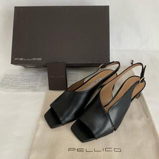 ペリーコ(PELLICO)の新品 5.9万円 ペリーコ ミュール 35.5 22.5cm サンダル ブラック(サンダル)