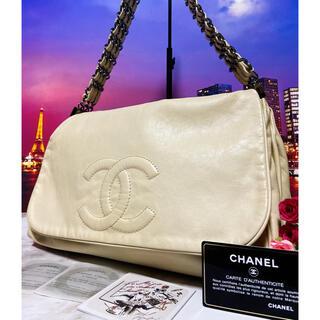 CHANEL - CHANEL シャネル【正規品】超レア 極美品 バッグ デカココ 3連チェーン