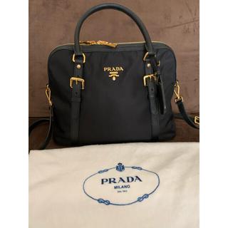 PRADA - 美品 PRADA プラダ 2wayバッグ