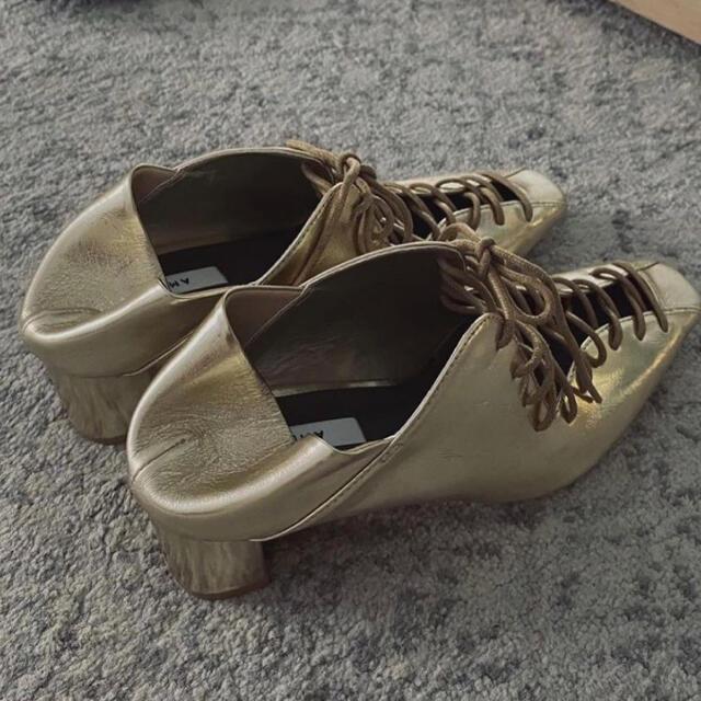 Ameri VINTAGE(アメリヴィンテージ)のAmeri VINTAGE LACE UP BABOOCHE レディースの靴/シューズ(サンダル)の商品写真