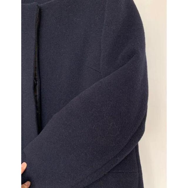 BEAUTY&YOUTH UNITED ARROWS(ビューティアンドユースユナイテッドアローズ)のビューティーアンドユース ロングコート ノーカラーコート レディースのジャケット/アウター(ロングコート)の商品写真