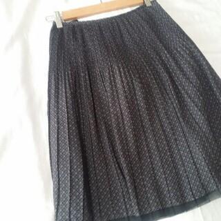 コムサイズム(COMME CA ISM)の美品 コムサイズム スカート(ひざ丈スカート)