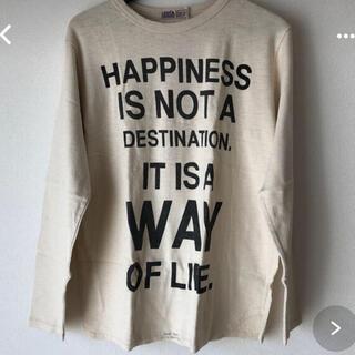 ゴートゥーハリウッド(GO TO HOLLYWOOD)の新品タグ付きゴートゥーハリウッドシルクネップテンジクTシャツ04(Tシャツ/カットソー)