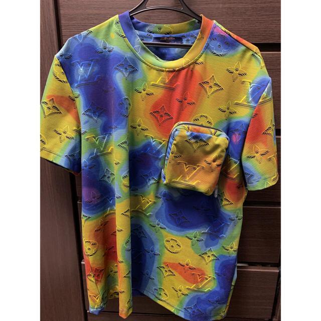 LOUIS VUITTON(ルイヴィトン)のLOUIS VUITTON  3Dエフェクトプリントパッカブル Tシャツ  メンズのトップス(Tシャツ/カットソー(半袖/袖なし))の商品写真