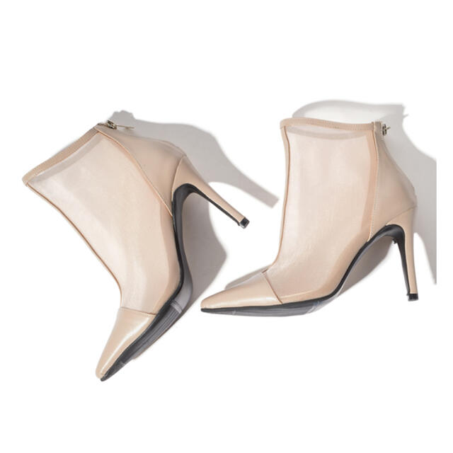 GRL(グレイル)のメッシュショートブーツ レディースの靴/シューズ(ブーツ)の商品写真