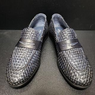 アンジェロパロッタ(Angelo Pallotta) イタリア製革靴 青 42