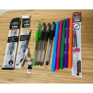 ハイテック(HI-TEC)のSIGNO ボールペン 替芯 ハイテック 替芯 油性ペン(ペン/マーカー)