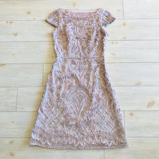 ANAYI - ANAYI ¥7.4万ツートンチュール刺繍ワンピース/セルフォード、23区、ロペ
