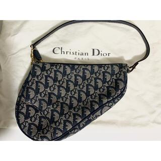 Christian Dior - Christian Dior クリスチャンディオール トロッター柄サドルバッグ