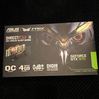 エイスース(ASUS)のASUS STRIX-GTX970-DC2OC-4GD5 グラボ GTX970(PCパーツ)