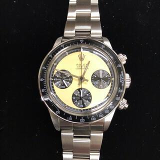 クロノグラフ 手巻き 腕時計