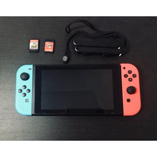 Nintendo Switch - 任天堂Switch本体他付属品 他カセット