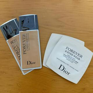 ディオール(Dior)のディオールスキン フォーエヴァー&エヴァーベース フォーエヴァーアンダーカバー(サンプル/トライアルキット)